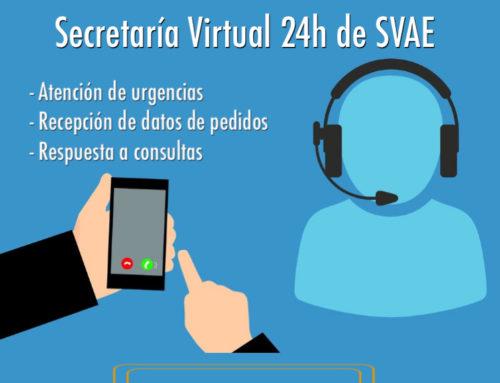 Durante el Estado de Alarma seguimos ofreciendo nuestro servicio de Secretaría Virtual al 100%